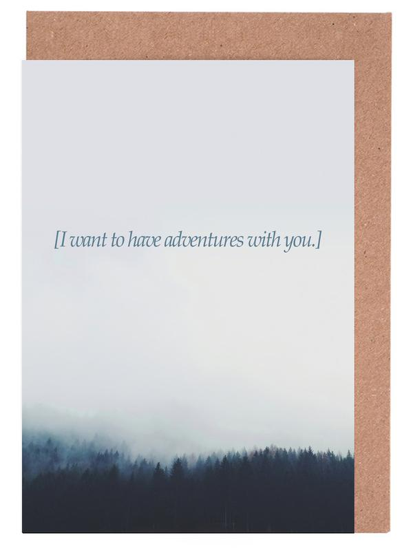 Adventures With You Greeting Card Set