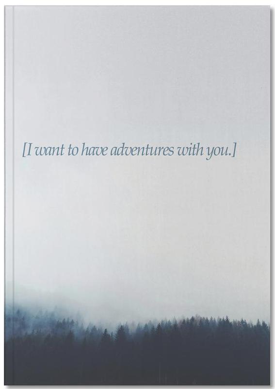 Zitate & Slogans, Wälder, Liebeszitate, Adventures With You Notebook