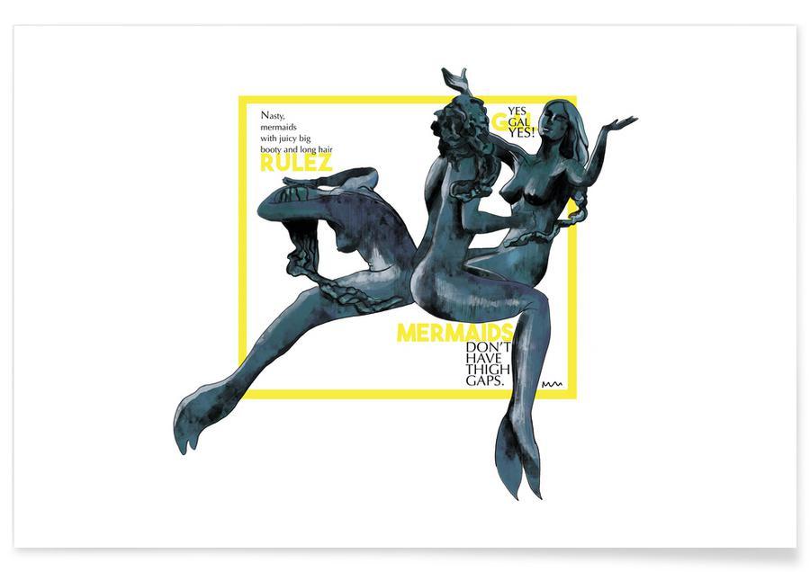 Mermaids -Poster