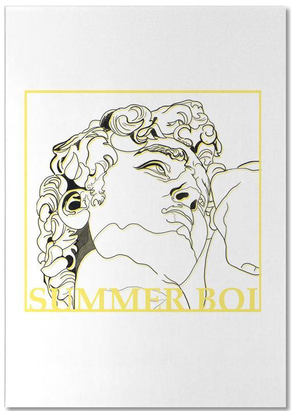 , Summer Boi -Notizblock