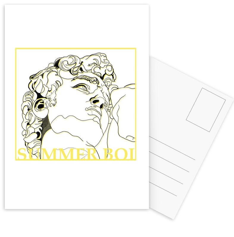, Summer Boi Postcard Set