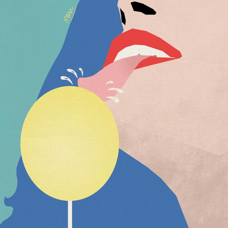 lollipop Acrylic Print