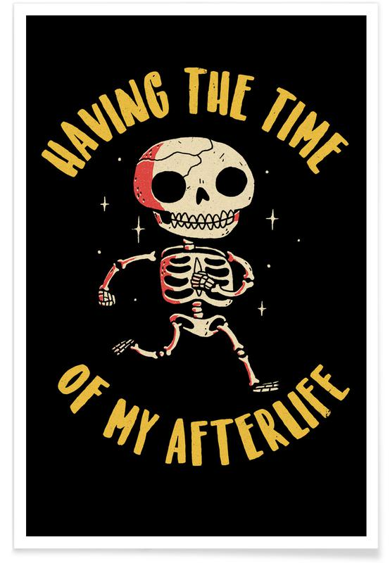 Grappig, Schedels, The Time Of My Afterlife poster