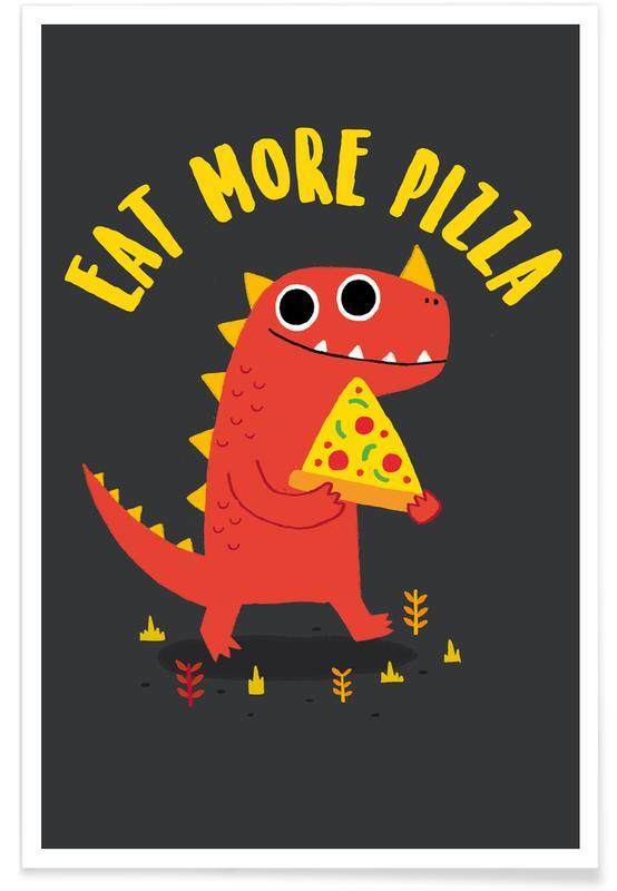 Pizzasaurus affiche