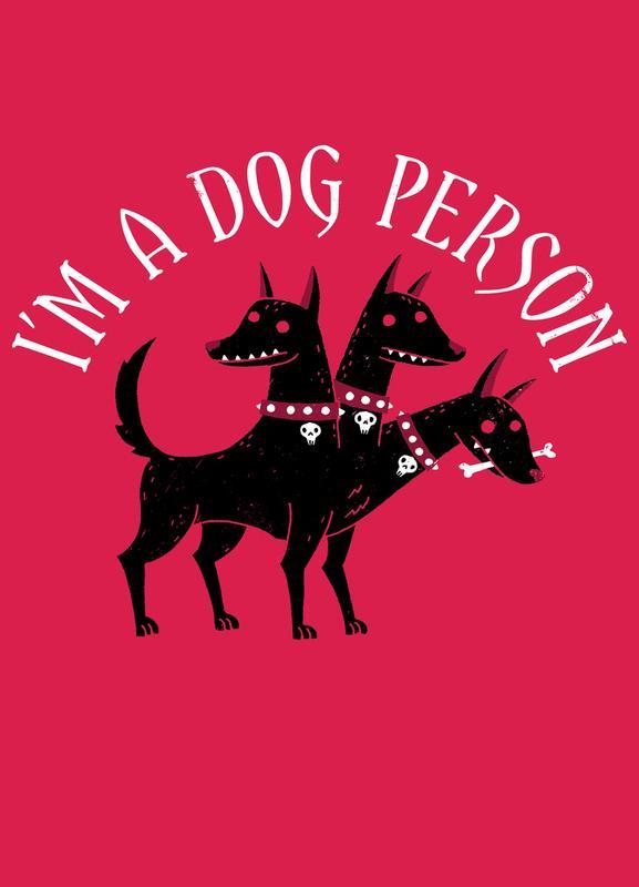 Dog Person Canvas Print