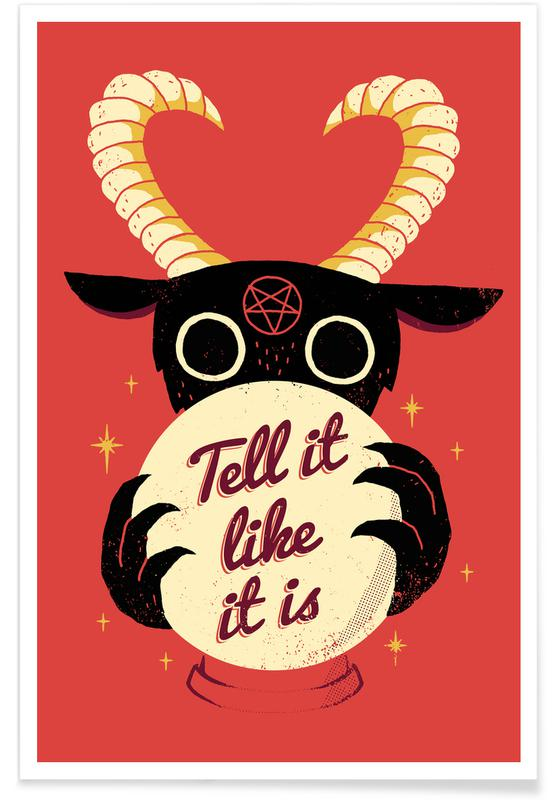 Grappig, Tell It Like It Is poster
