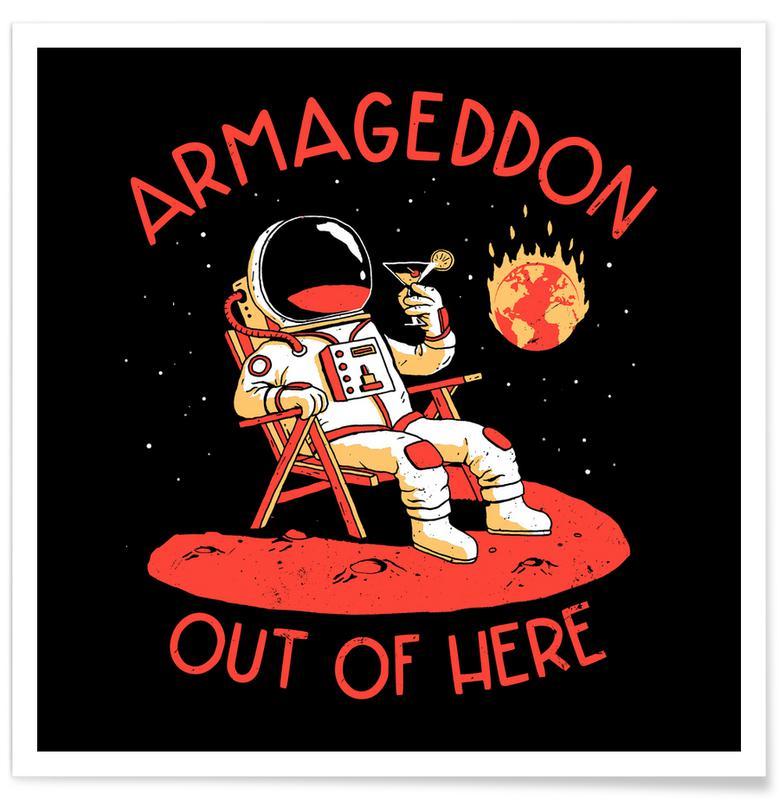 Lustig, Armageddon Out Of Here -Poster