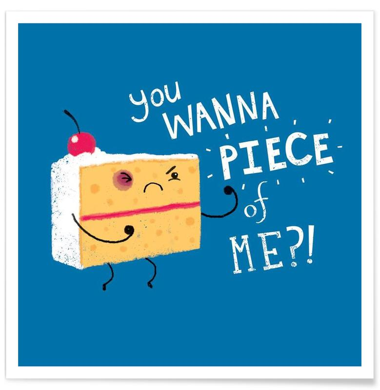 Kager, Humor, Angry Cake Plakat