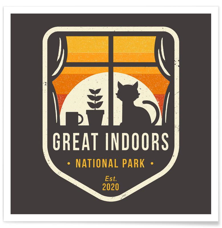 Humour, Great Indoors National Park affiche