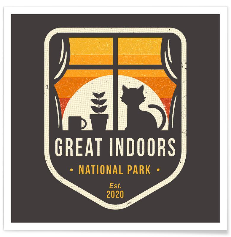 Lustig, Great Indoors National Park -Poster