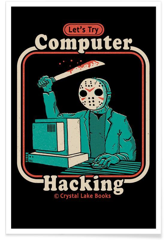Lustig, Hacking For Beginners -Poster