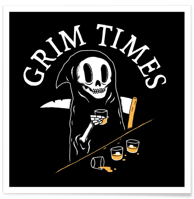Funny, Grim Times Poster