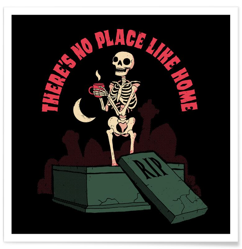Funny, No Place Like Home Poster