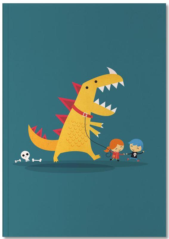 Humour, Art pour enfants, Dinosaures, Dino Walk Notebook