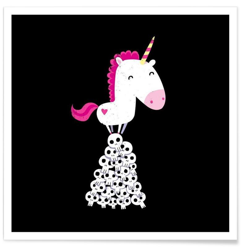 Rolig, Enhörningar, Killer Unicorn Poster