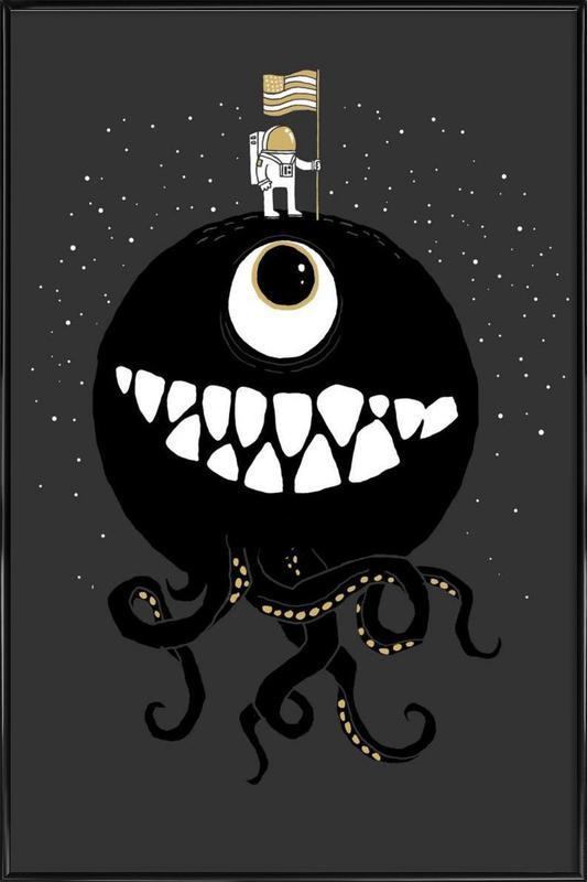 Space Oddity Framed Poster