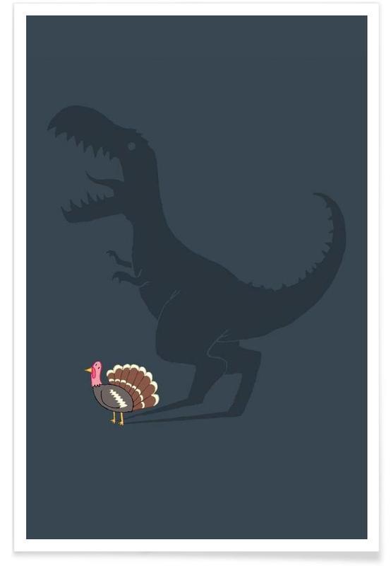 Dinosaurs, Evolution Sucks Poster