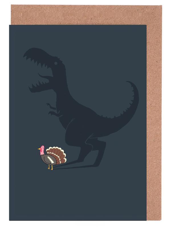 Dinosaurier, Evolution Sucks -Grußkarten-Set