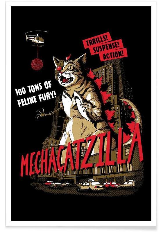 Wezens en kruisingen, Mecha Catzilla poster