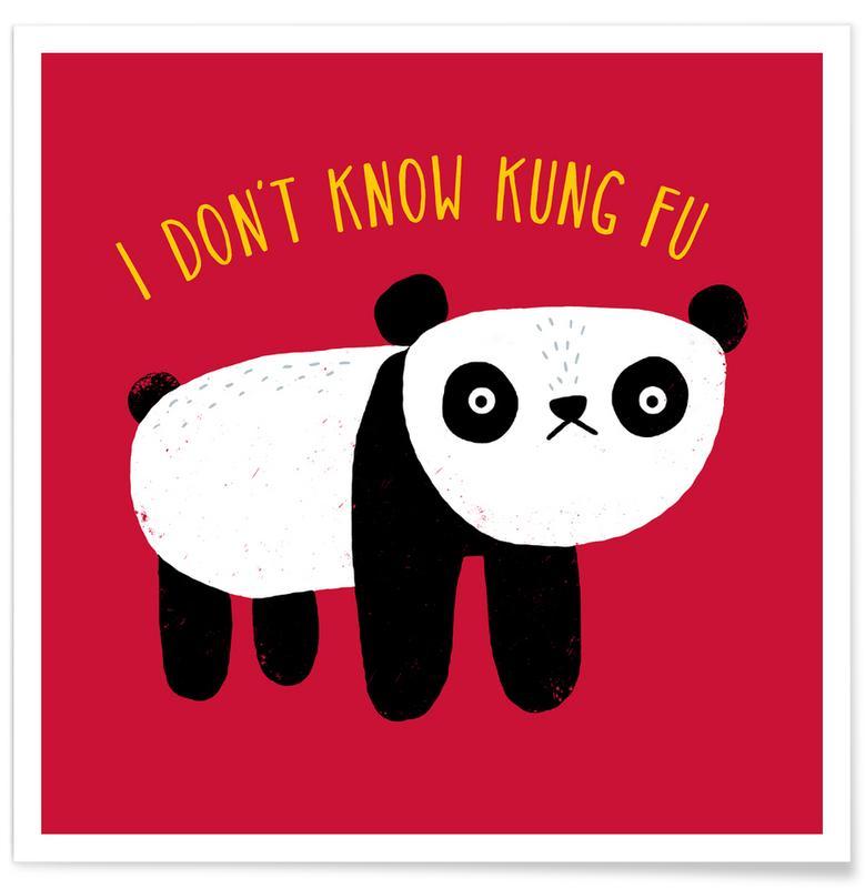 Pandas, Regular Panda Poster