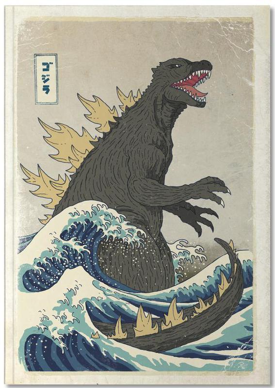 , The Great Godzilla off Kanagawa Notebook
