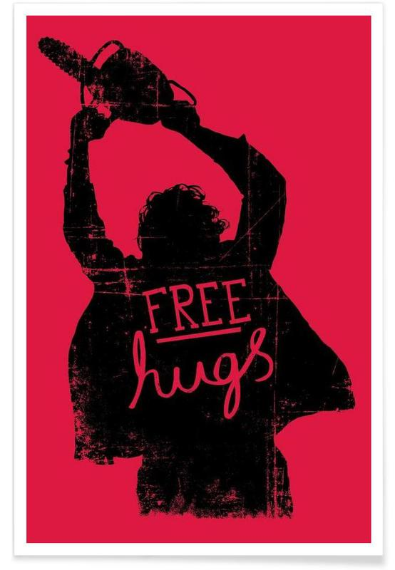 Humour, Free Hugs affiche