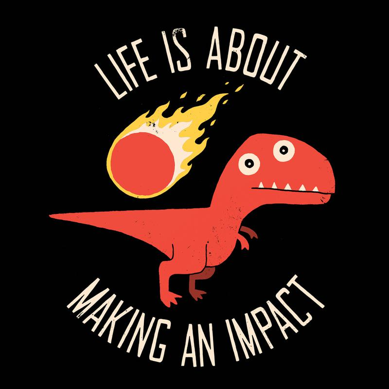 Making an Impact -Leinwandbild