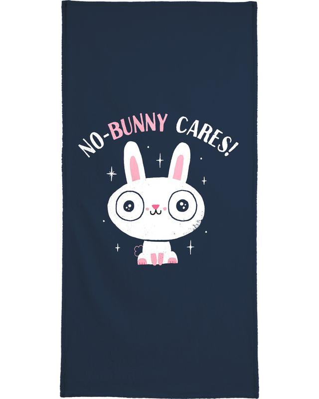Art pour enfants, Lapins, No-Bunny Cares serviette de bain
