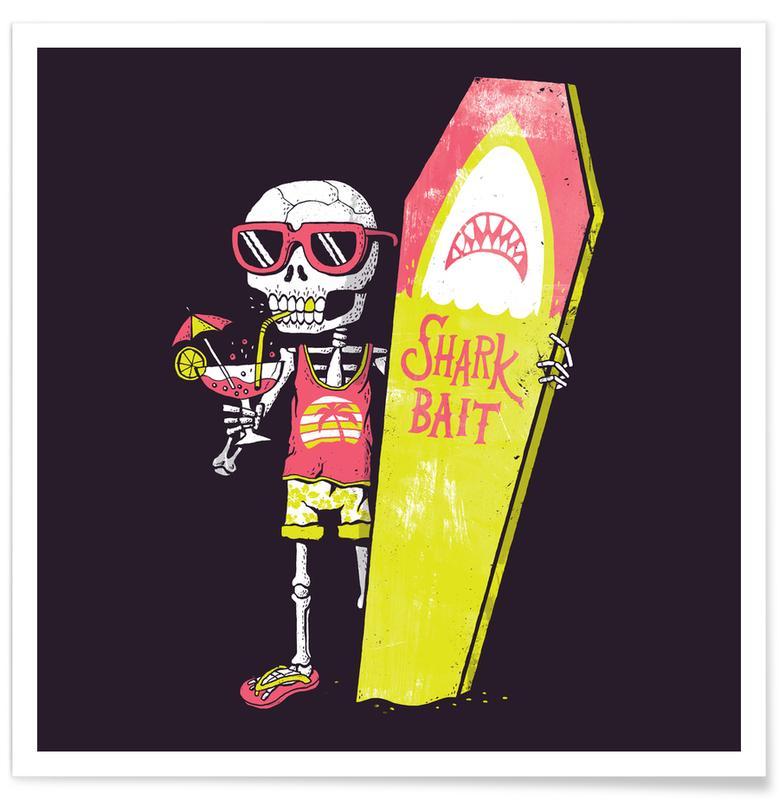 Schedels, Surfen, Permanent Vacation poster