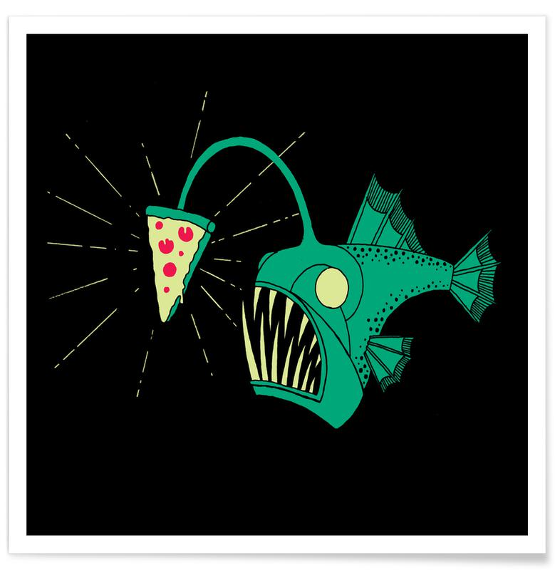 Angling For Pizza affiche