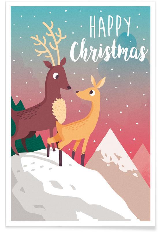 Winter Mountain -Poster