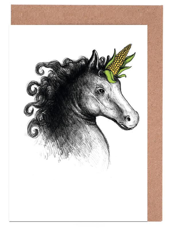 Einhörner, UniCorn -Grußkarten-Set