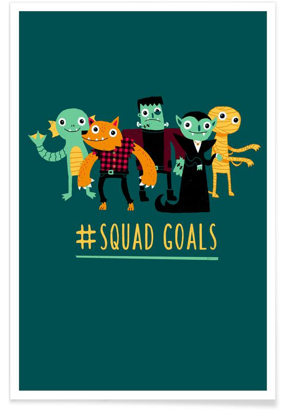 Humour, Squad Goals affiche