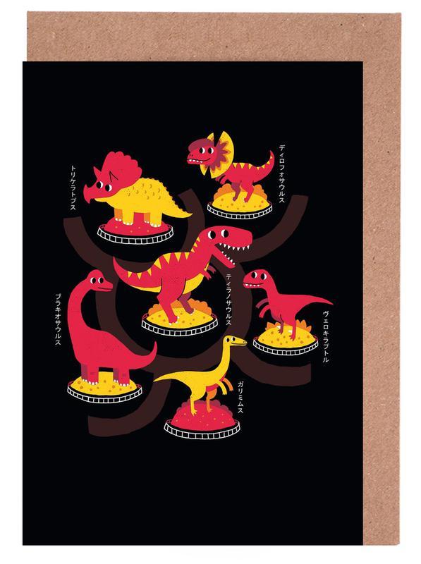 Jurassic Trail cartes de vœux
