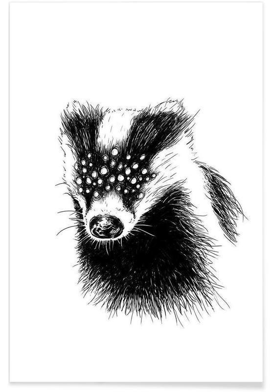 Noir & blanc, Pandemia 6 affiche