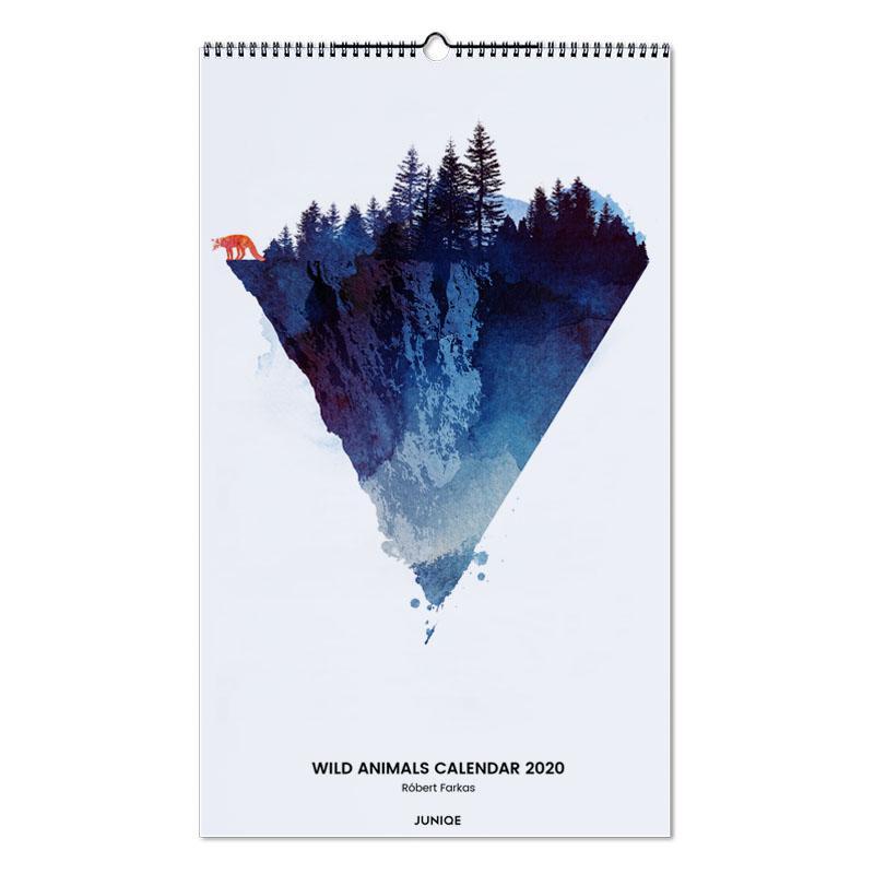 Wild Animals Calendar 2020 - Róbert Farkas calendrier mural