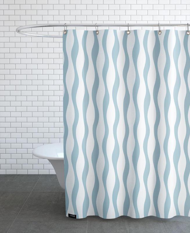 Wave Shower Curtain