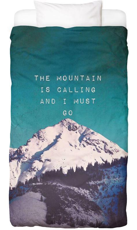 Mountain Is Calling housse de couette