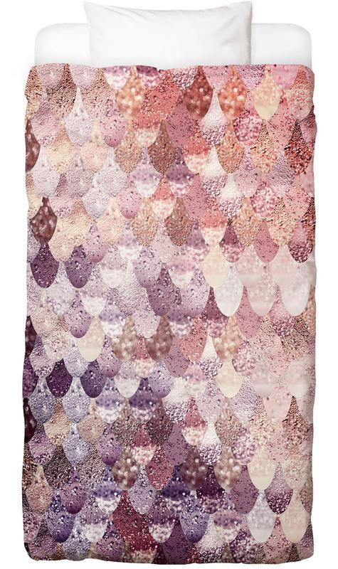 Mermaid Rosegold Bed Linen