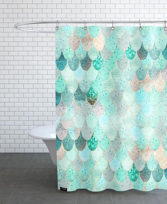 Mermaid Summer Shower Curtain