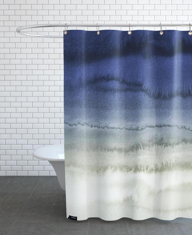 Within The Tides Crashing Wave Shower Curtain