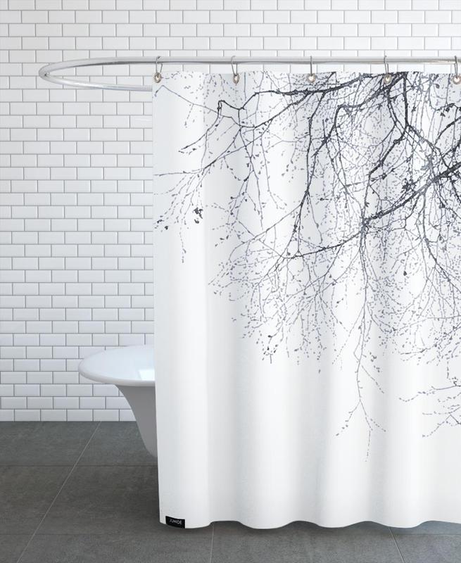 Black Branches -Duschvorhang