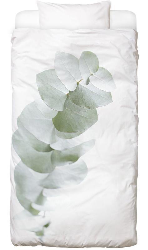 Eucalyptus White 1 Bed Linen