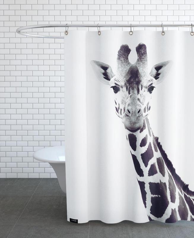 Giraffe rideau de douche