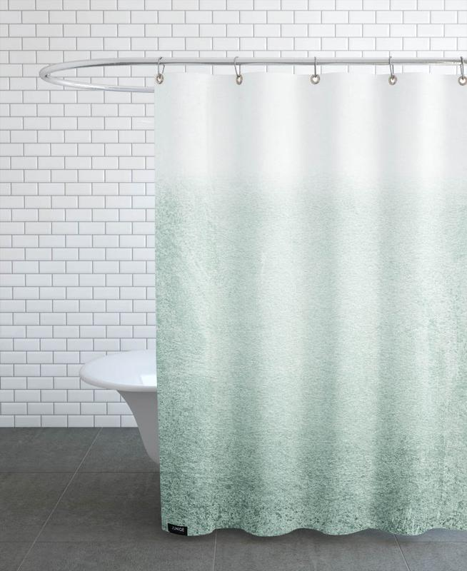 Fading Green Eucalyptus Shower Curtain