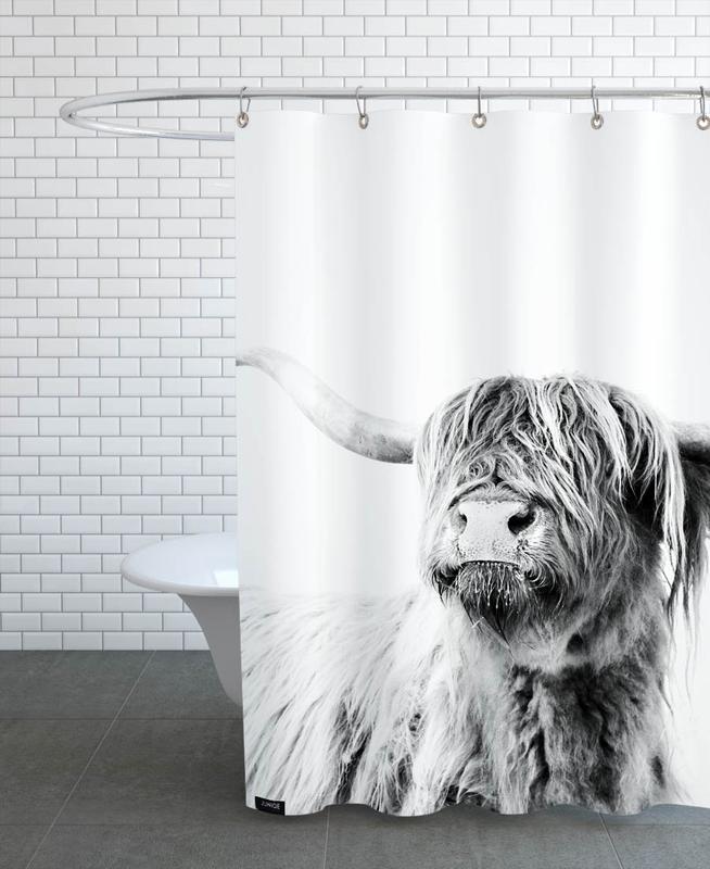 Highland Cattle Frida 2 -Duschvorhang