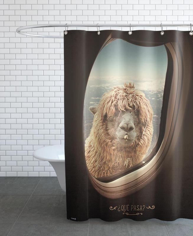 Que Pasa ? Shower Curtain