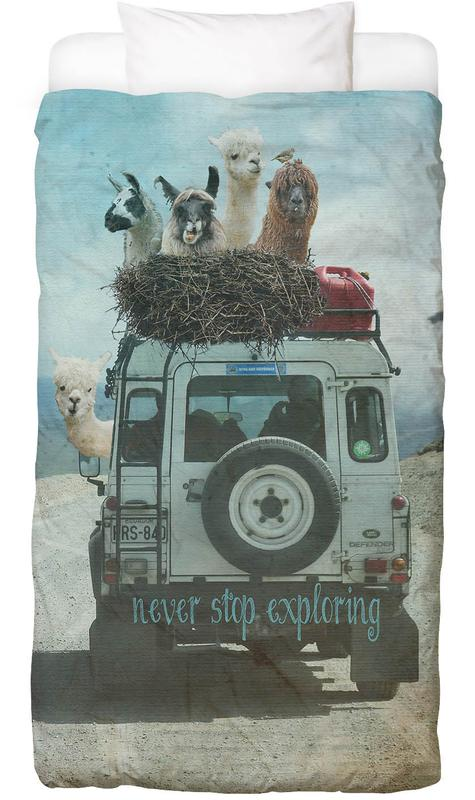 Never Stop Exploring II Kids' Bedding