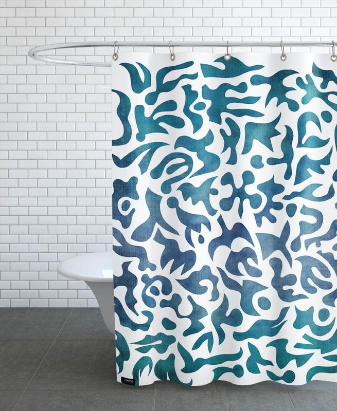 Patterns, Alive Shower Curtain