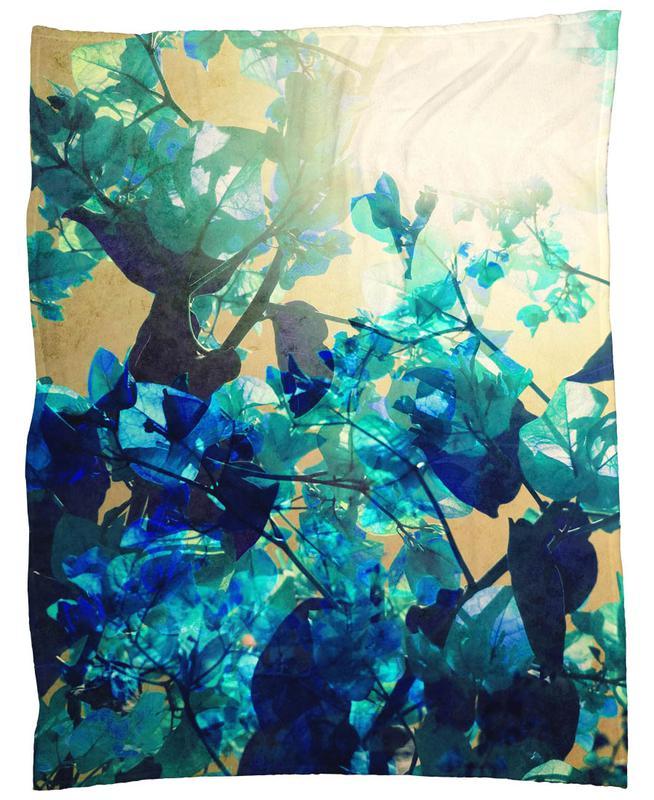 Sunny Blue Fleece Blanket